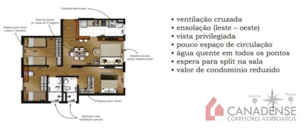 Altos do Mirador - Apto 2 Dorm, Santo Antonio, Porto Alegre (4892) - Foto 6