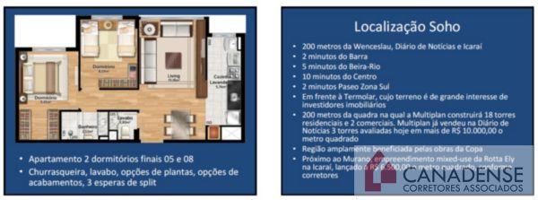 Soho Connect - Apto 2 Dorm, Cristal, Porto Alegre (6499) - Foto 5