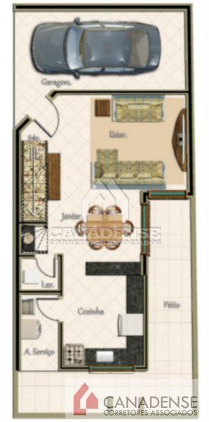 Yucatan - Casa 3 Dorm, Camaquã, Porto Alegre (7340) - Foto 19
