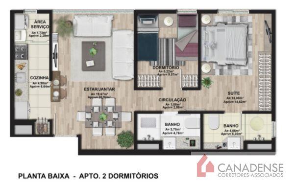 Ibiza Confortlife - Apto 3 Dorm, Cavalhada, Porto Alegre (8240) - Foto 15