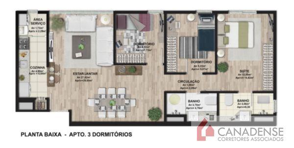 Ibiza Confortlife - Apto 3 Dorm, Cavalhada, Porto Alegre (8240) - Foto 16