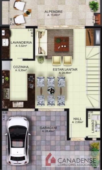 Ville Liberté III - Casa 3 Dorm, Vila Nova, Porto Alegre (8790) - Foto 4