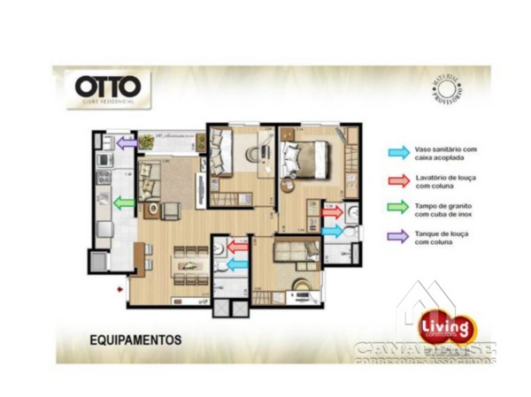 Otto Clube Residencial - Garagem, Camaquã, Porto Alegre (5363) - Foto 6