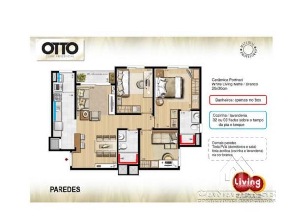 Otto Clube Residencial - Garagem, Camaquã, Porto Alegre (5363) - Foto 7